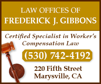 Fred Gibbons Law Offices Ad 2