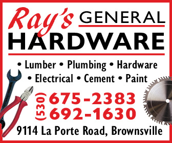 Rays General Hardware Ad 2